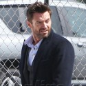 Hugh Jackman Pretends To Urinate While Posing For Photo Shoot