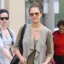 Jessica Alba Picks Up Adorable Honor From School