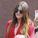 Khloe Kardashian And Kylie Jenner Visit Rob At DWTS Rehearsal