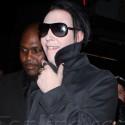 Shia Labeouf Escorts His Girlfriend To Marilyn Manson Video Premiere