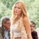 Blake Lively Glows On The NYC Set Of Gossip Girl