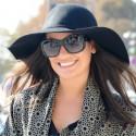 Glee's Lea Michele Arrives in Paris for Fashion Week