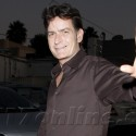 Charlie Sheen Goes To Dinner With Friends
