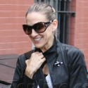 Sarah Jessica Parker Rocks Leather Pants In NYC