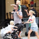 Naomi Watts And Liev Schrieber Spend The Day With Sons