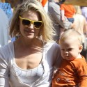 Ali Larter Takes Son Theo To The Pumpkin Patch