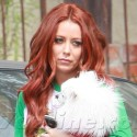 Aubrey O'Day And Her Pooch Make An Appearance