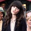 Julianne Hough And Zooey Deschanel Chat With Mario Lopez At The Grove