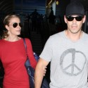 LeAnn Rimes And Eddie Cibrian Cruise Through LAX
