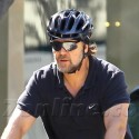 Russell Crowe Gets His Bike On