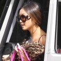 Brenda Song Arrives For A Meeting At The Four Seasons
