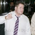 Chaz Bono Leaves Anderson Cooper's Studio In NYC