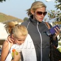 Camille Grammer Sepnds Time With Mason In Malibu