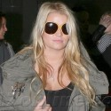 Jessica Simpson Hides Her Growing Belly In NYC