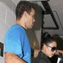Kim And Kris Hit The Gym