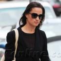 Pippa Middleton Wears All Black