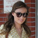 Olivia Wilde Smiles At The Waxing Salon