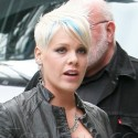 Pink On The Set Of Her New Film