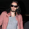 Russell Brand Stops By The Elephant Stages In Hollywood