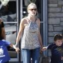 Sharon Stone Takes The Boys To Pinkberry
