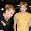 Michelle Williams And Busy Phillips Head Out