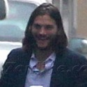 Ashton Kutcher Is All Smiles After Visiting With Laura Prepon