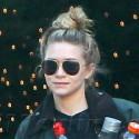 Ashley Olsen Leaves The Gym On Black Friday