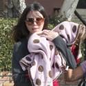 Oksana Grigorieva Runs Errands With Lucia