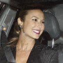 Stacey Keibler Dines Without George Clooney