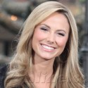 Stacy Keibler Chats With Extra At The Grove