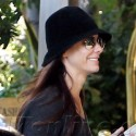 Sandra Bullock Is All Smiles On Her Way In To The Four Seasons