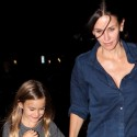 Courteney Cox Goes To Dinner With Coco