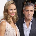 George Clooney Takes Stacy Keibler To The Descendants Premiere