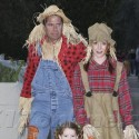 Alyson Hannigan And Fam Go Trick-Or-Treating