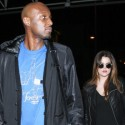 Khloe And Lamar Cruise Through LAX