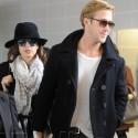 Ryan Gosling And Eva Mendes Jet Out Of Paris
