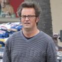 Matthew Perry Looks Chubby In Malibu