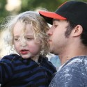 Pete Wentz And Meagan Camper Spend Time With Bronx