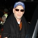 Bruce Willis Returns From Paris