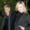 Ellen DeGeneres And Portia DeRossi Grab Dinner At Madeo