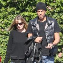 Ellen Pompeo And Chris Ivery Wear Matching Outfits In Beverly Hills