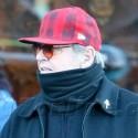 Jack Nicholson Bundles Up In Aspen