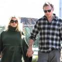 Pregnant Jessica Simpson And Eric Johnson Stop At Starbucks