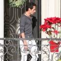 Marc Anthony Enjoys Solo Time