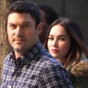 Megan Fox And Brian Austin Green Catch A Basketball Game On Christmas Day