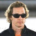 Matthew McConaughey Looks Sexy In The Parking Garage