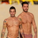 Marc Jacobs Hits The Beach With Ex Boyfriend In St. Barths