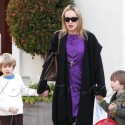 Sharon Stone Spends The Afternoon With Her Boys