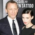 Rooney Mara Strikes A Pose With <em>Dragon Tattoo</em> Co-Star Daniel Craig