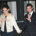 Tom And Katie Enjoy A Dinner Date In The Big Apple